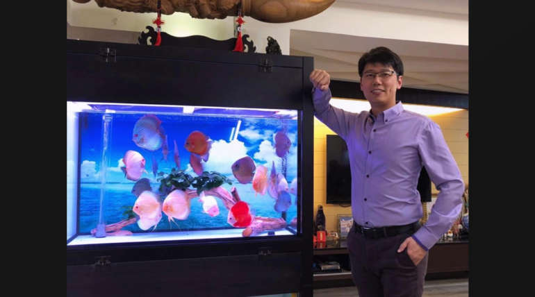 Mr. Wen Bin's big mac Discus!
